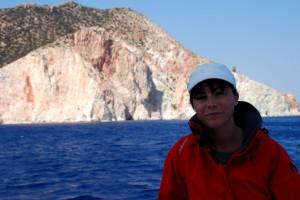 Amorgos falaises