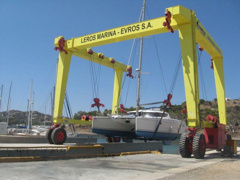 Tamouré à la Marina de Leros