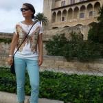 Les abords de la cathédrale, à Palma de Majorque