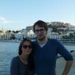 Devant le port d'Eivissa