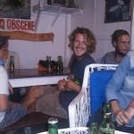 Au bar de la plage