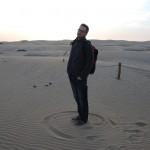 Sur les dunes...