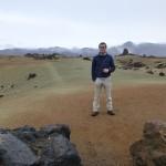 Sur le mont Teide, paysage extra terreste