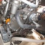 Vue de détail moteur babord